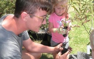 Planting day at Kid's Corner