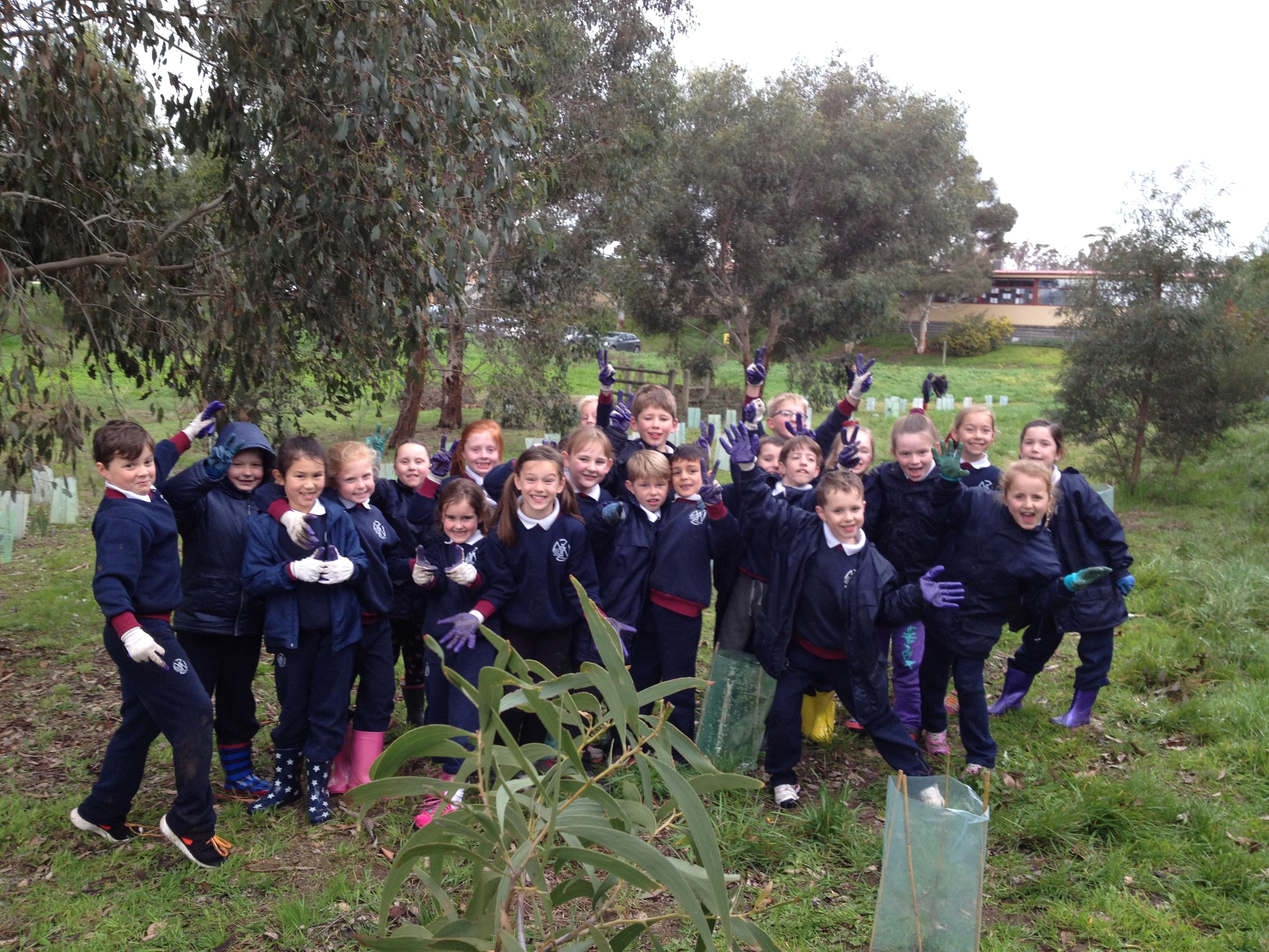 Environmental team at Villa Maria.